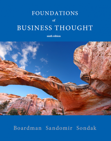 Foundations of Business Thought, Ninth Edition AMENDED