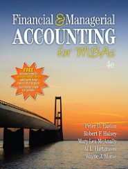 Financial & Managerial Accounting for MBAs, 4e